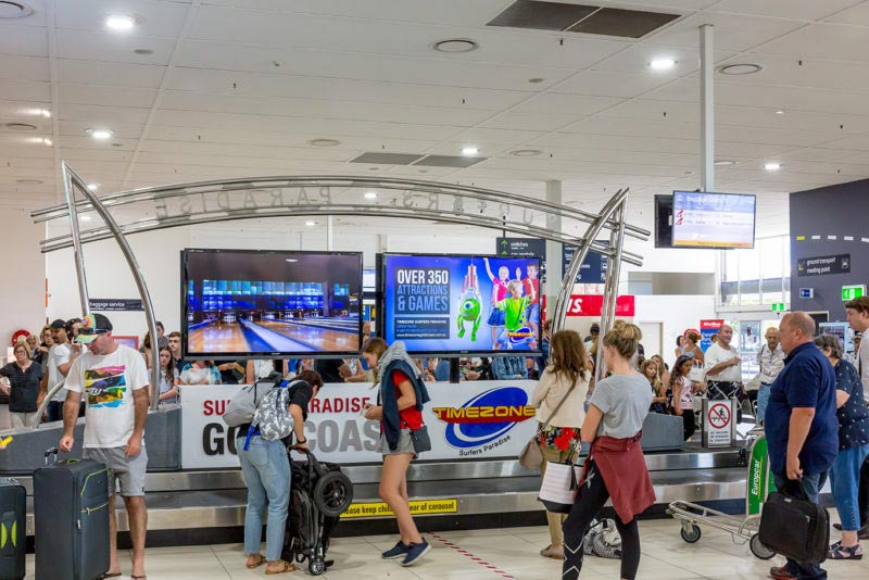Airport Advertisers Set For Gold During Commonwealth Games