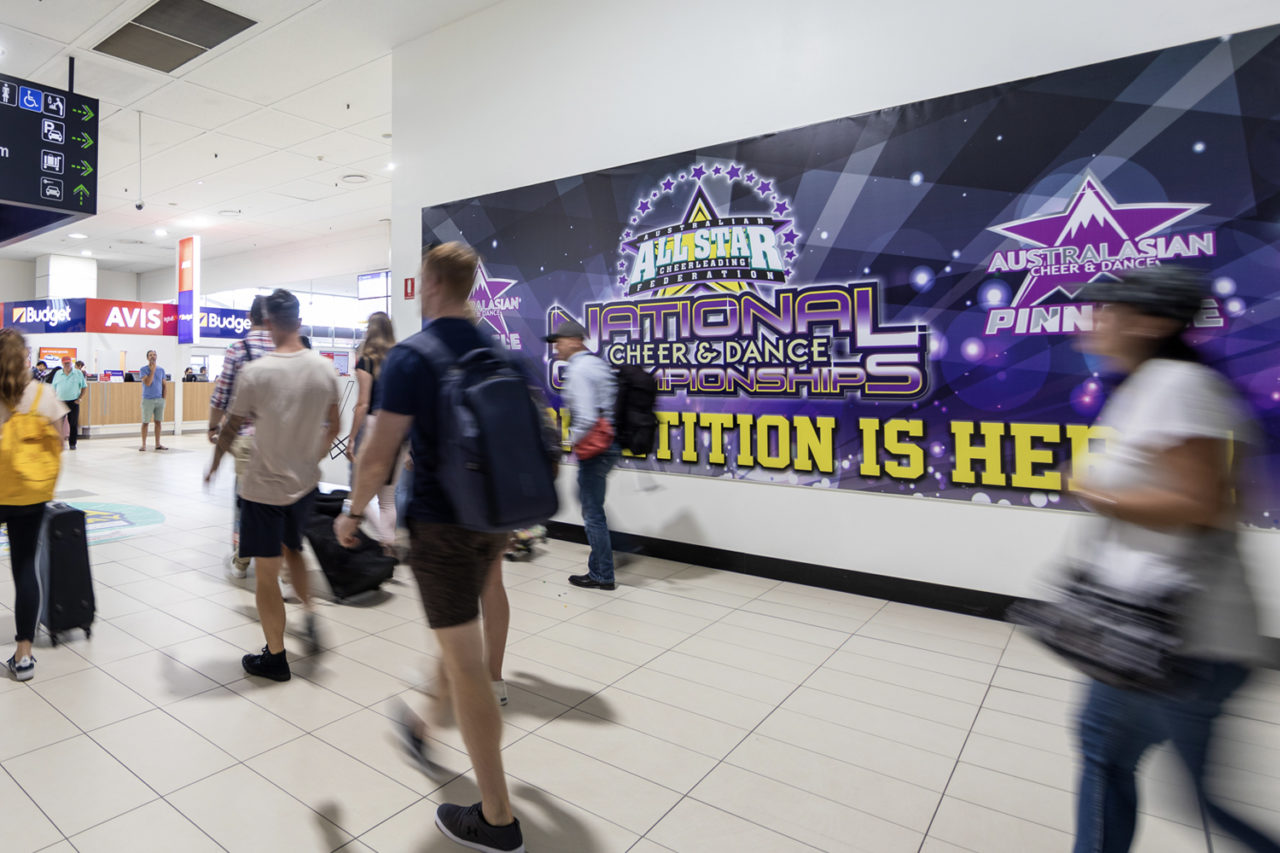 Gold Coast Airport Advertising, Airport Advertising, Bishopp Outdoor Advertising, Bishopp Airport Advertising, Advertising, Airport Advertising