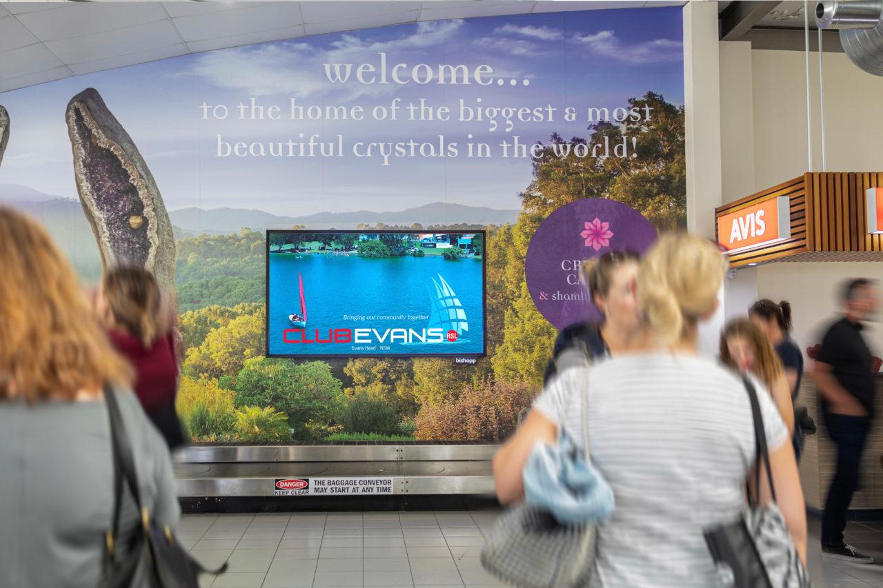 Ballina Airport Advertising, Airport Advertising, Bishopp Outdoor Advertising, Bishopp Airport Advertising, Advertising, Airport Advertising
