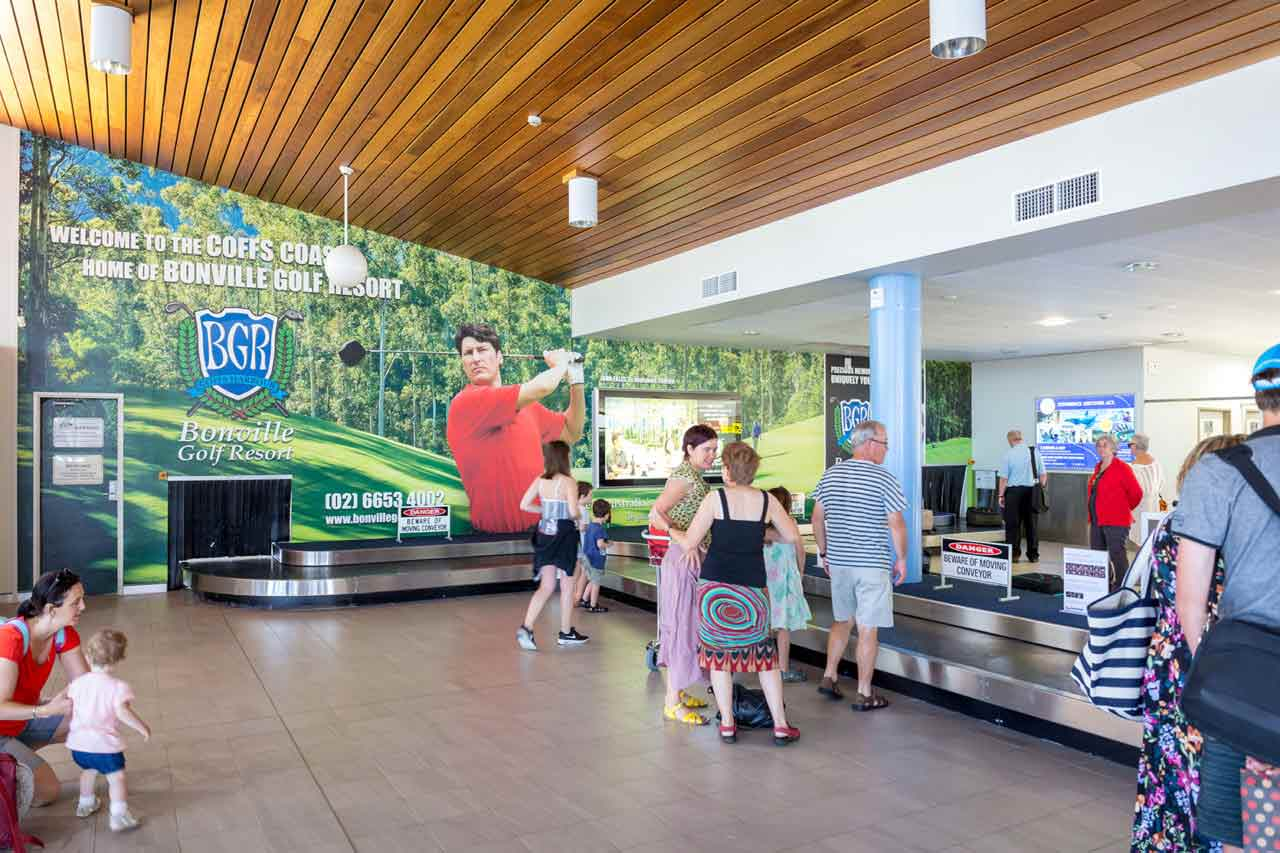 Coffs Harbour Airport Advertising
