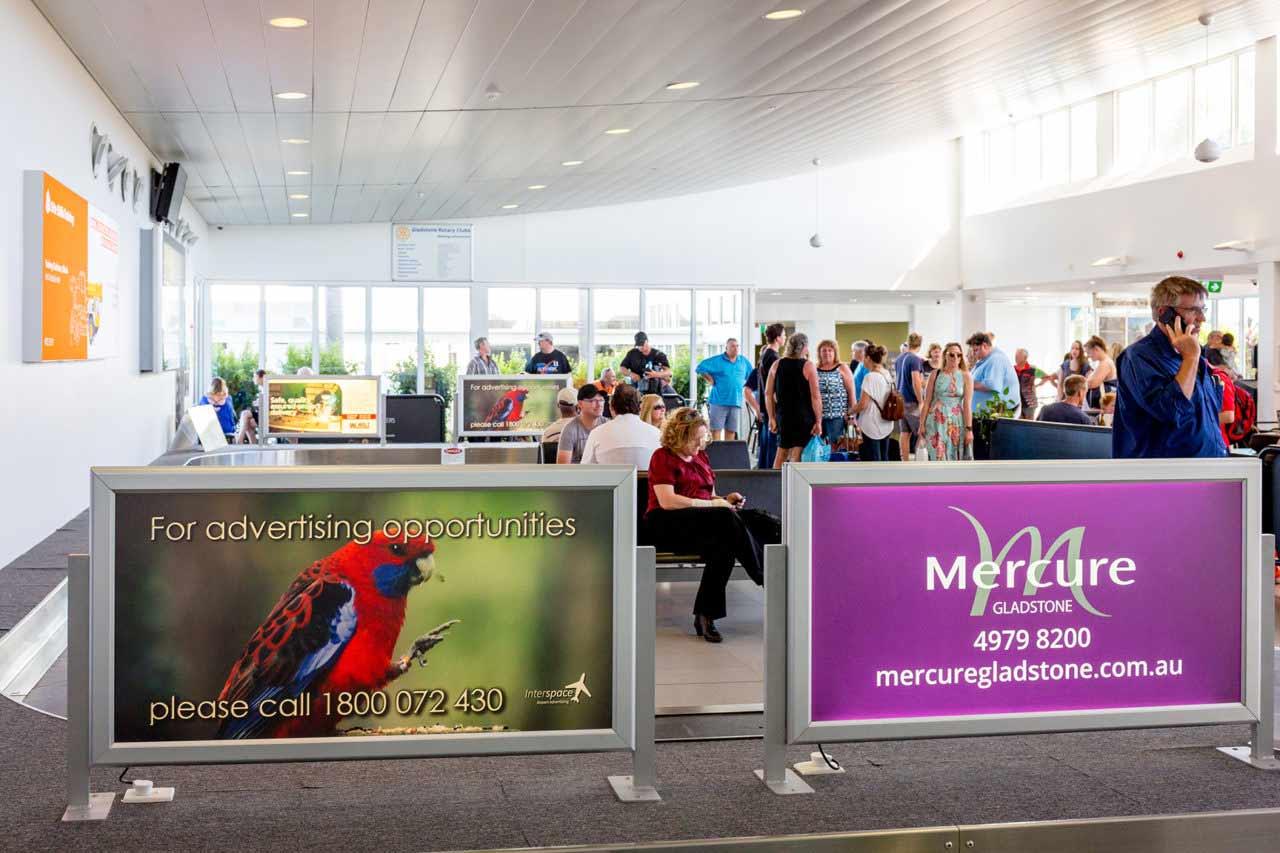 Gladstone Airport Advertising