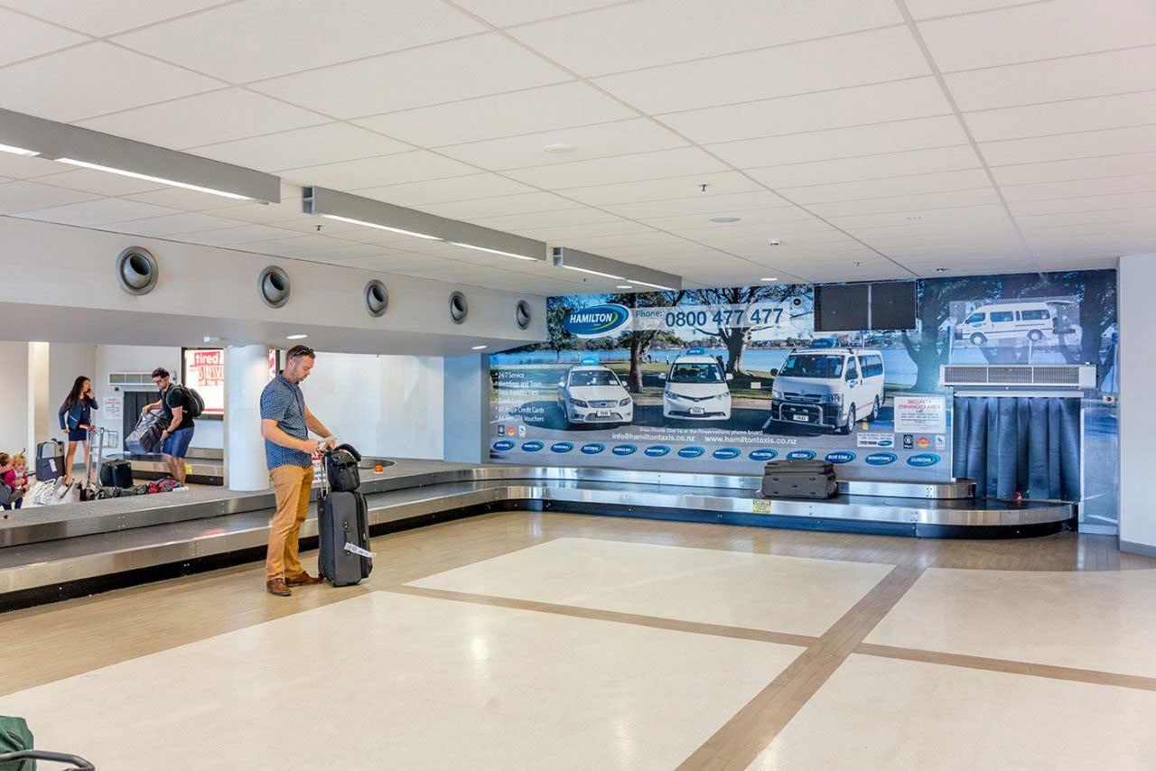 Hamilton Airport Advertising