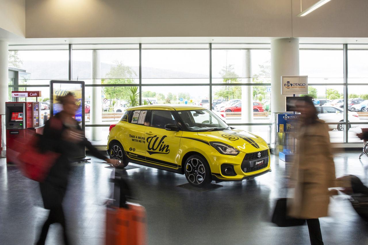 Dunedin Airport Advertising, Bishopp Airport Advertising, Airport Advertising, Car Advertising, Vehicle Advertising