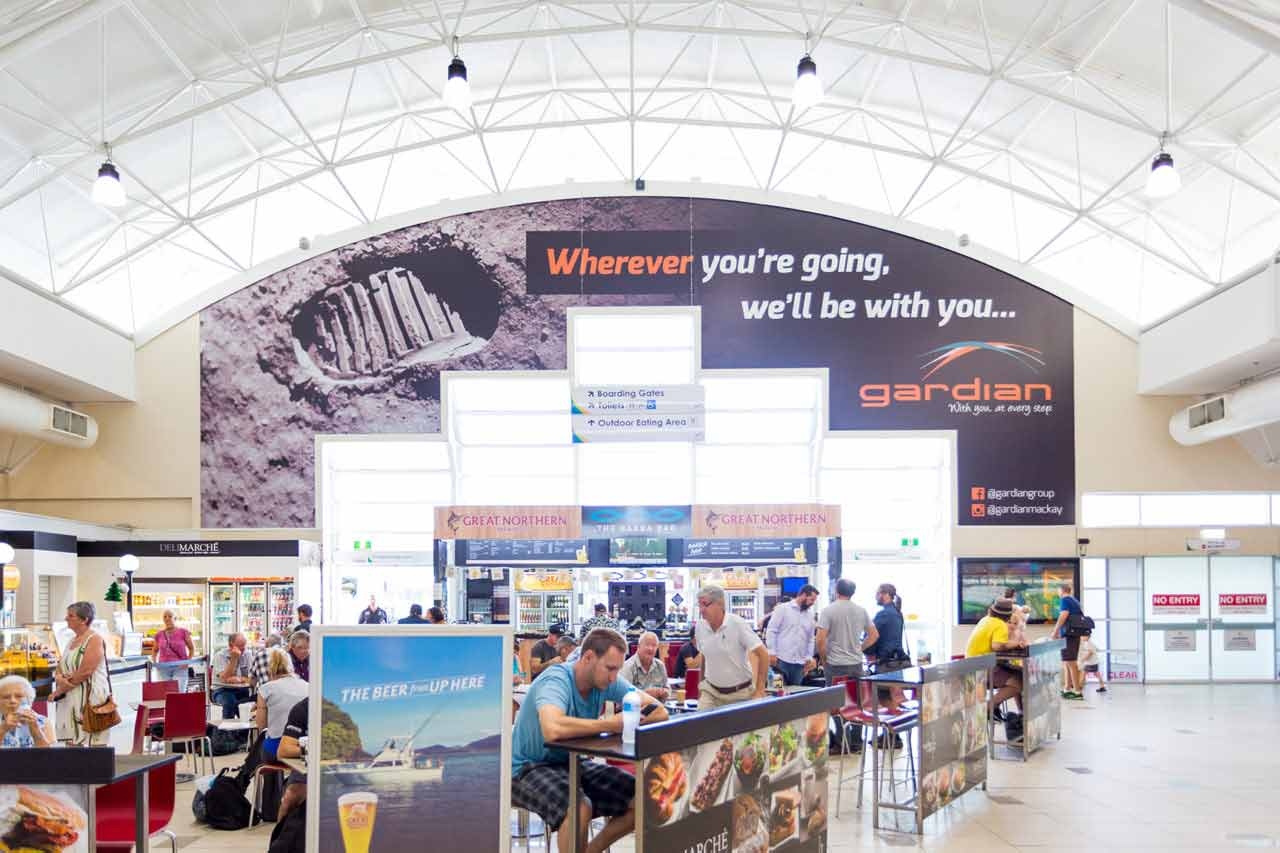 Mackay Airport Advertising