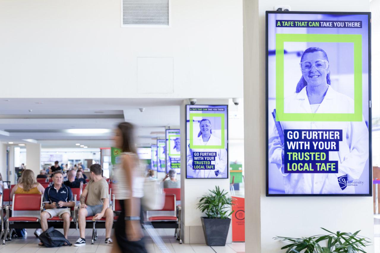 Mackay Airport Advertising, Airport Advertising, Bishopp Outdoor Advertising, Bishopp Airport Advertising, Advertising, Airport Advertising