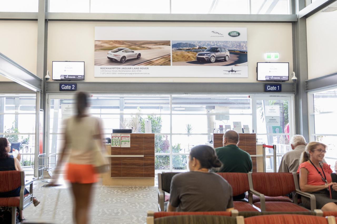 Rockhampton Airport Advertising Airport Advertising, Airport Advertising, Bishopp Outdoor Advertising, Bishopp Airport Advertising, Advertising, Airport Advertising