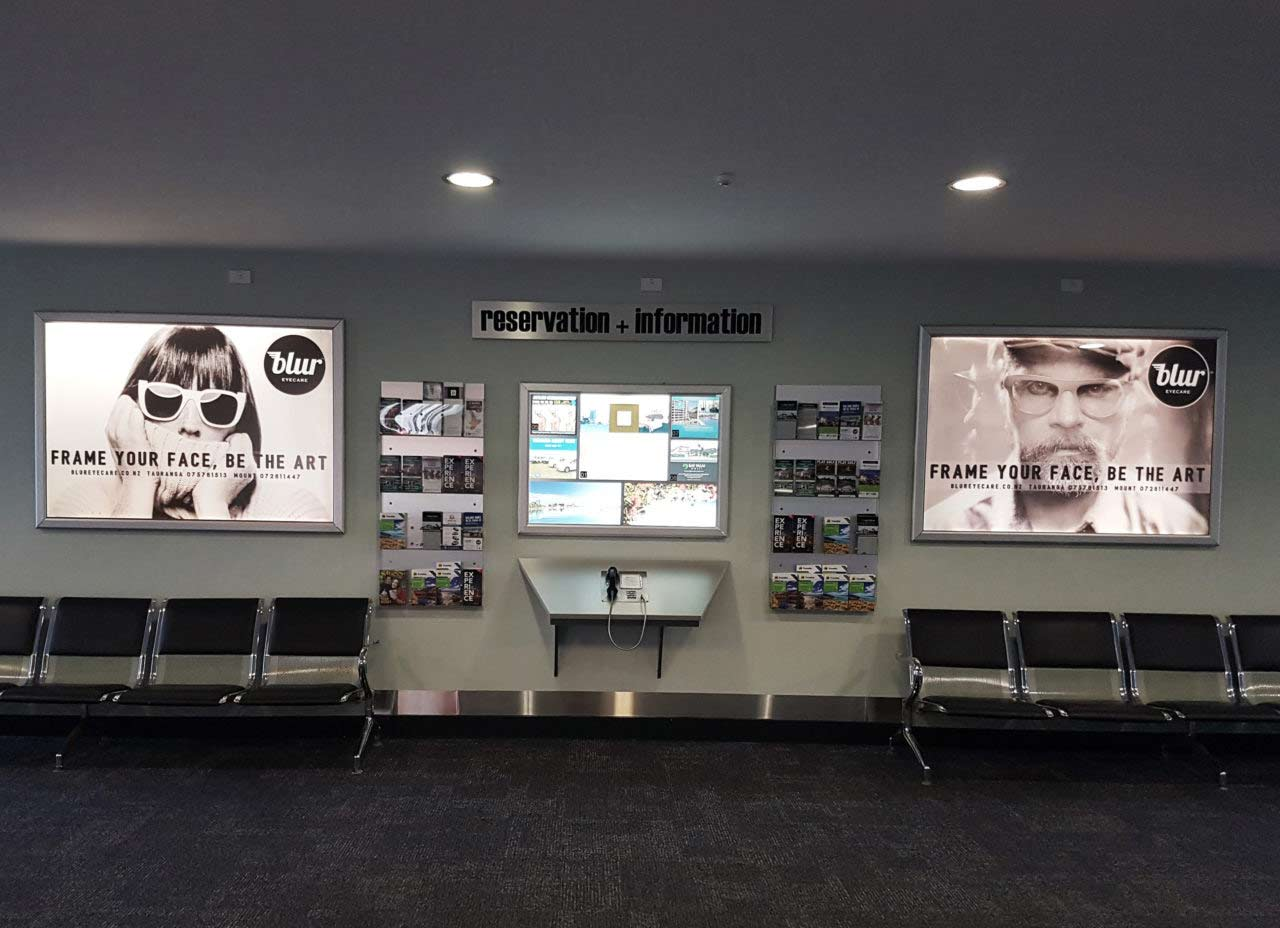 Tauranga Airport Advertising