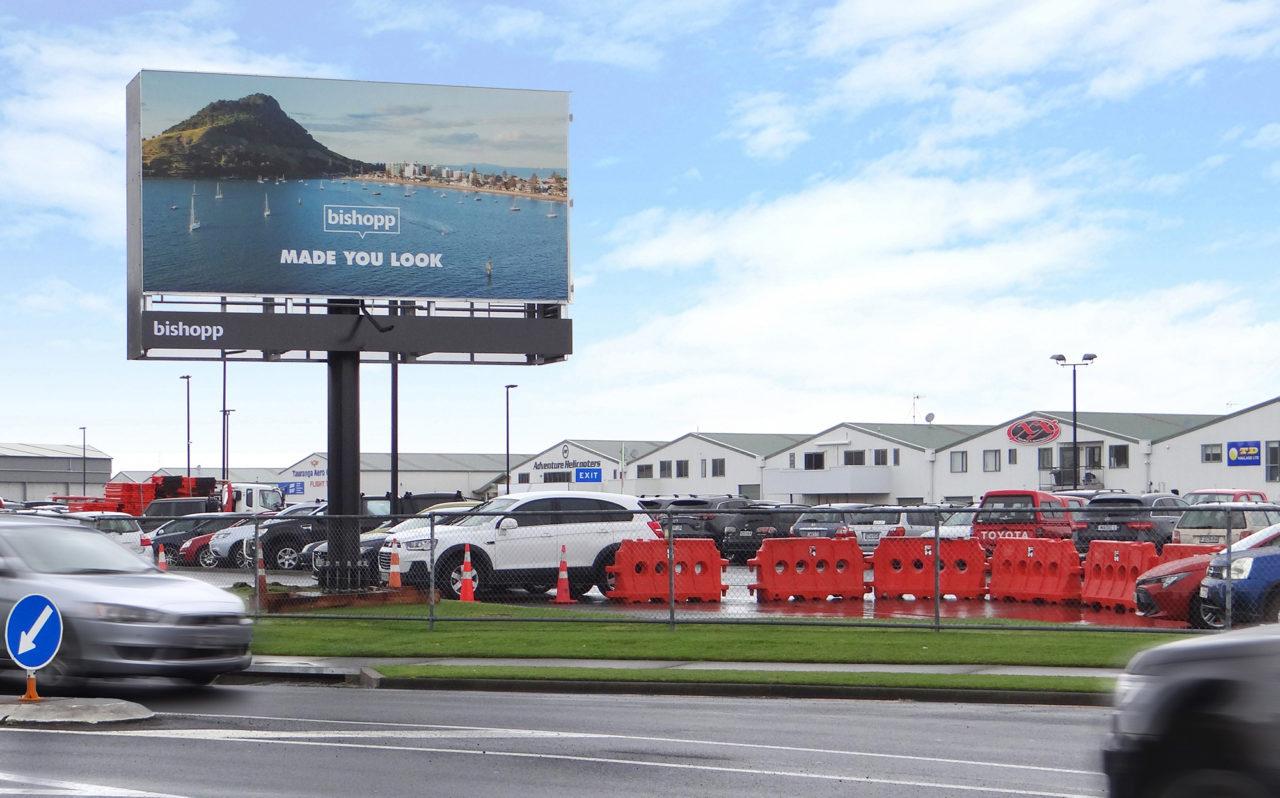 Tauranga Airport Advertising