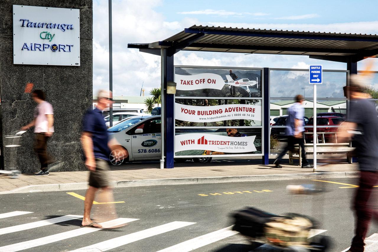 Tauranga Airport Advertising, Airport Advertising, Bishopp Outdoor Advertising, Bishopp Airport Advertising, Advertising, Airport Advertising