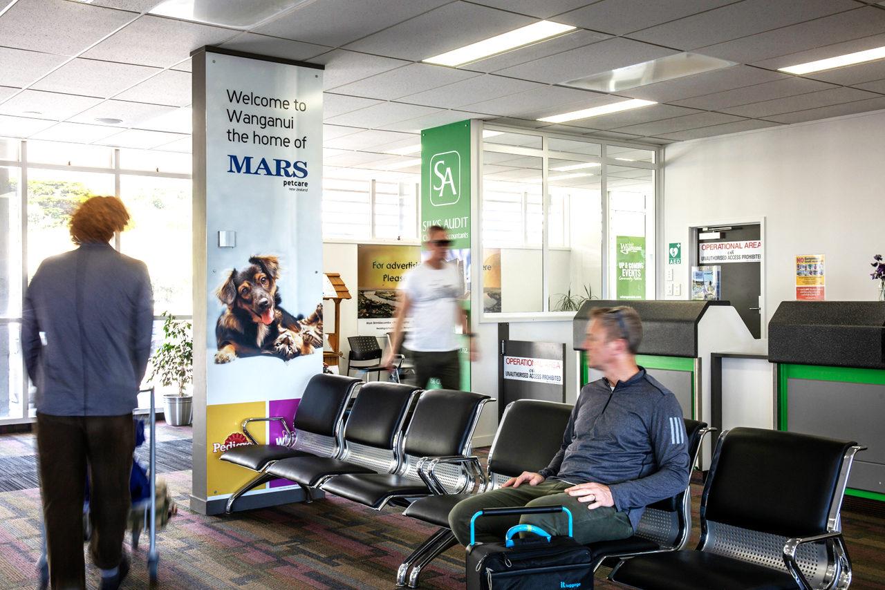 Whanganui Airport Advertising, Airport Advertising, Bishopp Outdoor Advertising, Bishopp Airport Advertising, Advertising, Airport Advertising