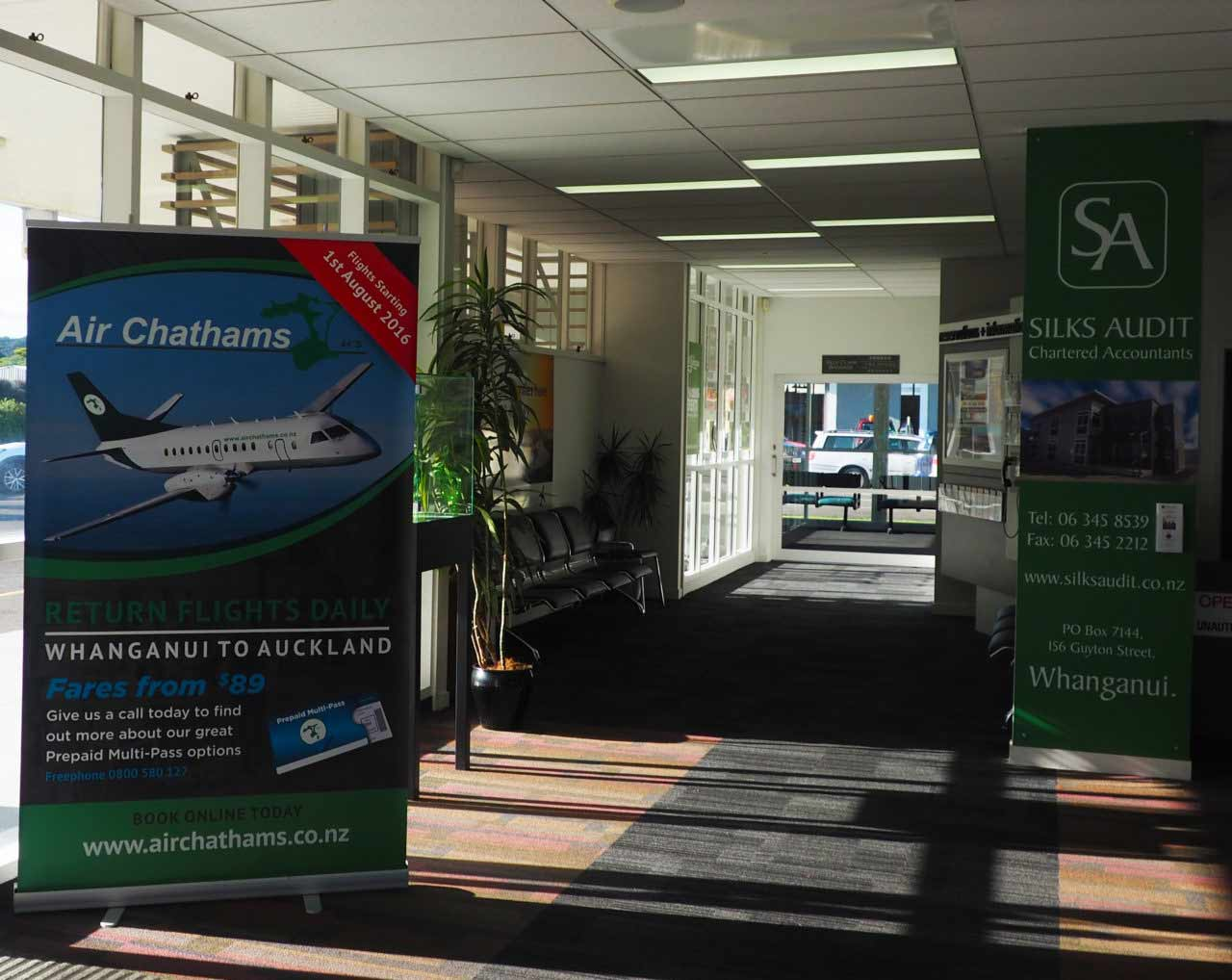 Whanganui Airport Advertising