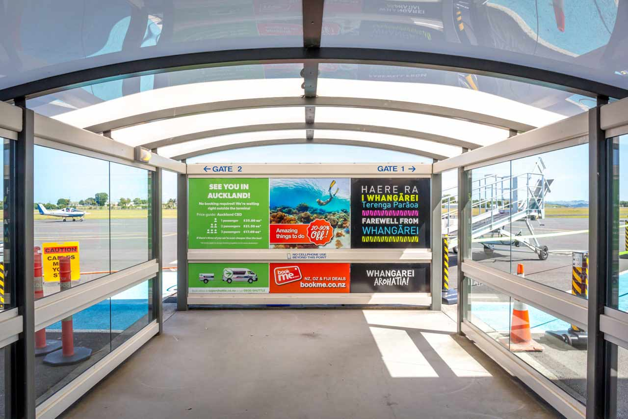 Whangarei Airport Advertising