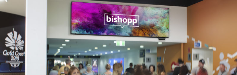 Bishopp's Vivid Arrival to Gold Coast Airport