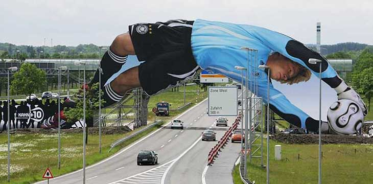 Adidas 2006 Football World Cup Overpass