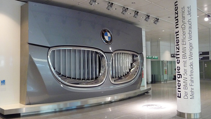 BMW At Munich Airport