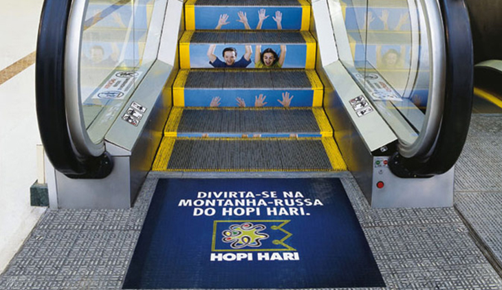 Hopi Hari Airport Esculator