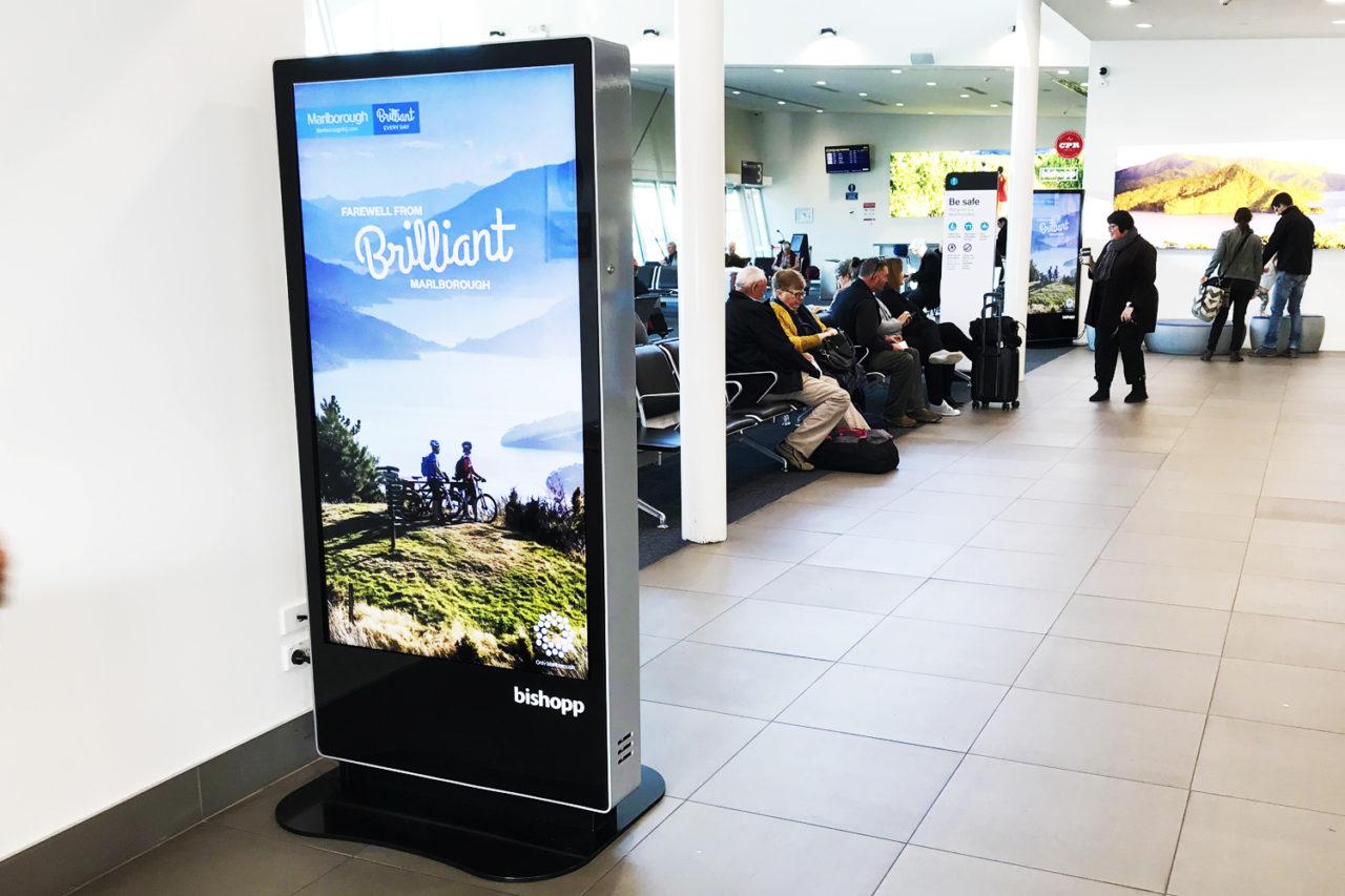 Marlborough Airport Advertising, Digital Advertising, Airport Advertising, Bishopp, Bishopp Airport Advertising, Bishopp Outdoor Advertising, Marlborough Advertising