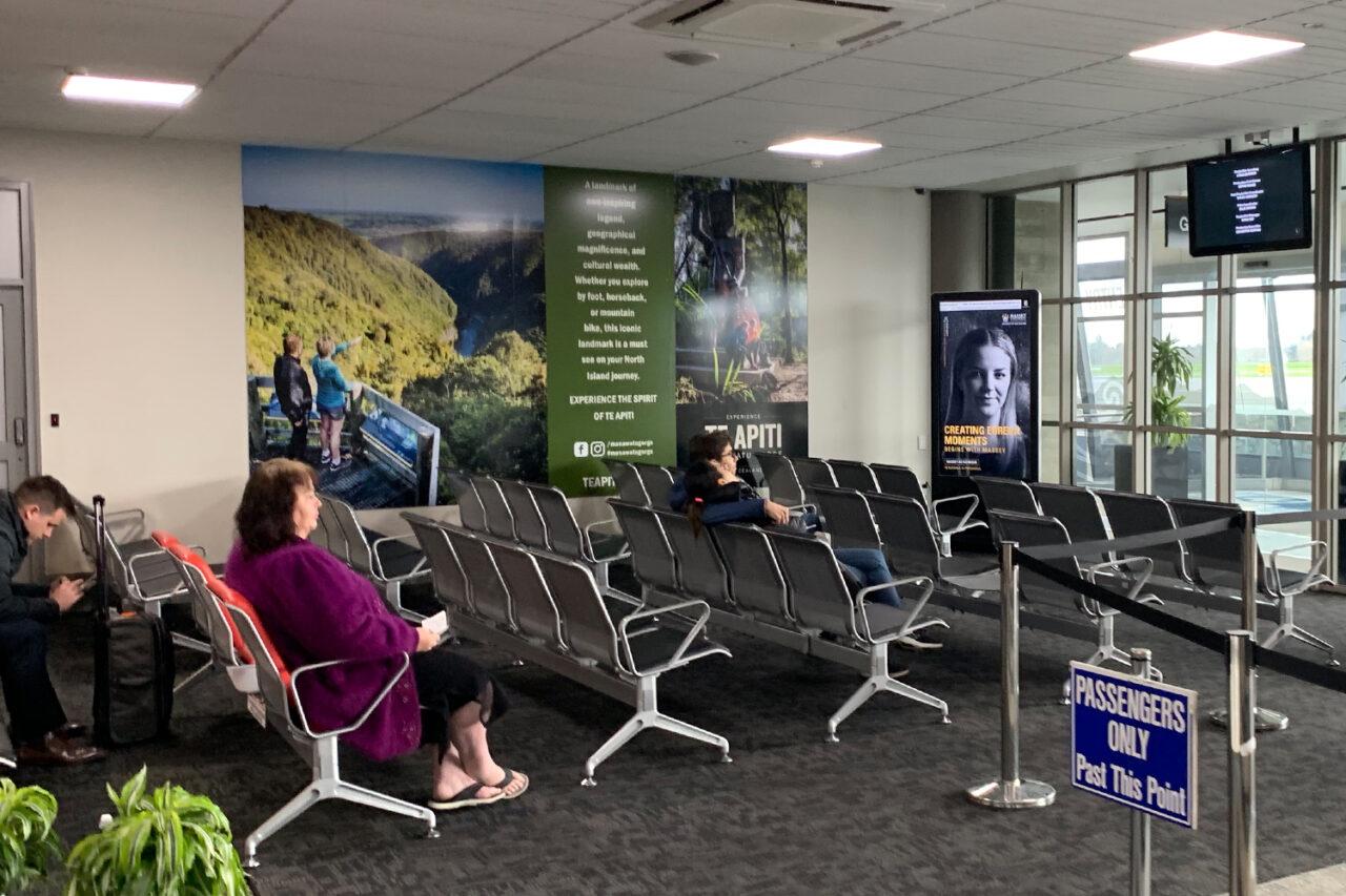 Palmerston North Airport, Bishopp Airport Advertising